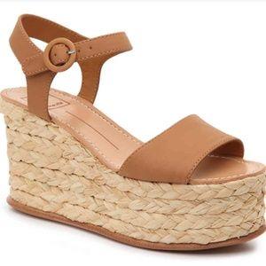 Dolce vita Dane espadrille wedge sandals size 9